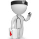3d small people - doctor